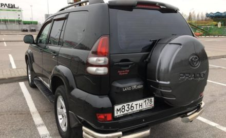 Выкуп Toyota Land Cruiser Prado 120